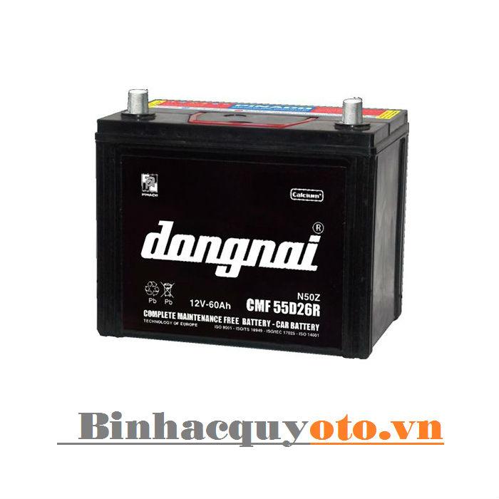 Ắc quy Đồng Nai CMF 55D26 (12V - 60Ah)
