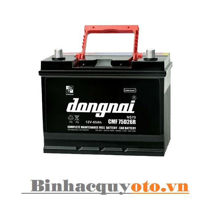 Ắc quy Đồng Nai CMF 75D26 (12V - 65Ah)
