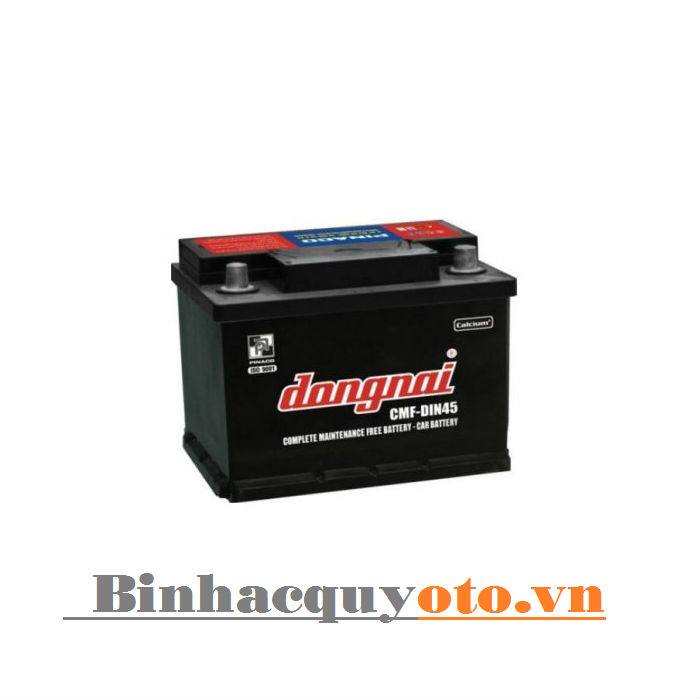 Ắc quy Đồng Nai CMF DIN45 (LBN) (12V - 45Ah)