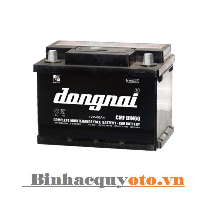 Ắc quy Đồng Nai CMF DIN60 (12V - 60Ah)