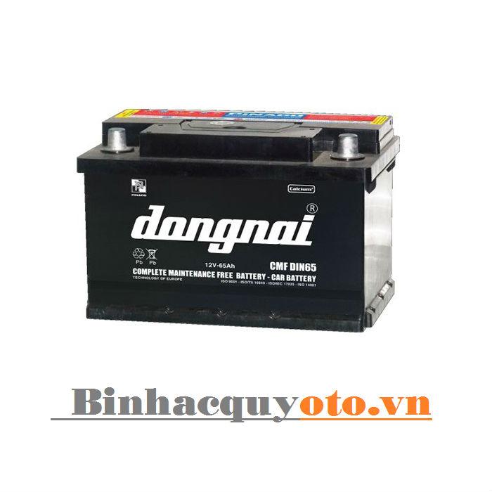 Ắc quy Đồng Nai CMF DIN65 (12V - 65Ah)