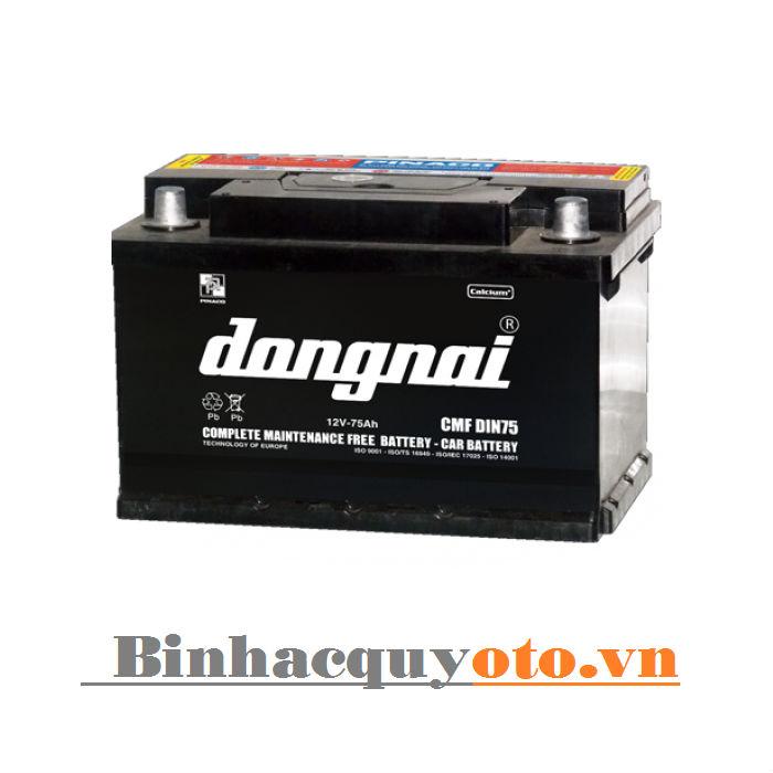 Ắc quy Đồng Nai CMF DIN75 (12V - 75Ah)