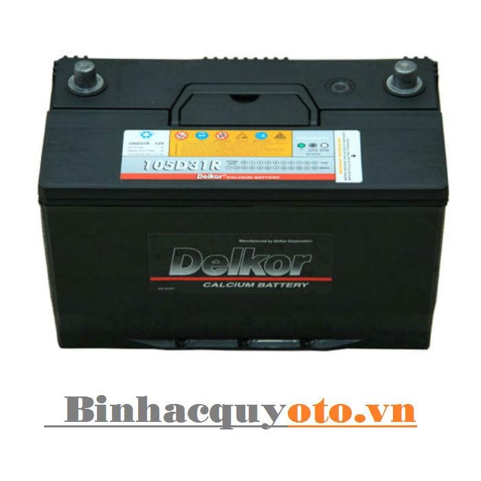 Ắc quy Delkor 105D31R (12V - 90Ah)