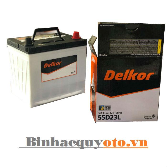 Ắc quy Delkor 55D23L (12V - 60Ah)