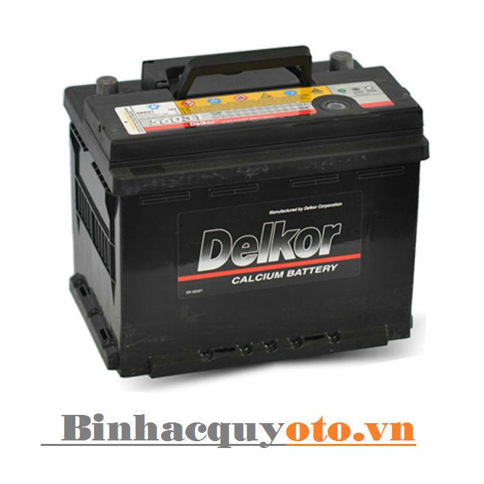 Ắc quy Delkor Din 56030 (12V - 60Ah) - Cọc trái