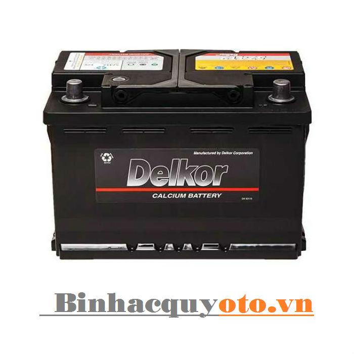 Ắc quy Delkor Din 57539 (12V - 75Ah)