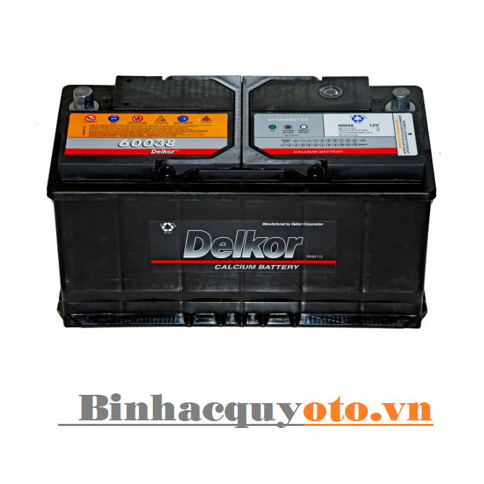Ắc quy Delkor DIN 60038 (12V - 100Ah)