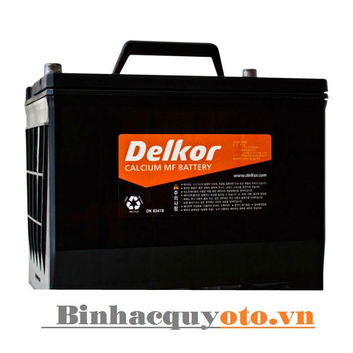 Ắc quy Delkor NX110-5L (95D26L) 12V - 75Ah