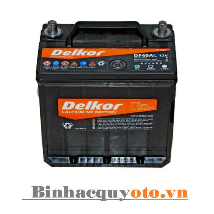 Ắc quy Delkor MG DF40AL (12V - 40Ah)