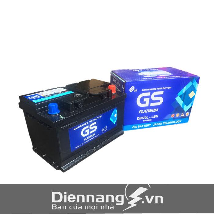 Ắc quy GS MF Din 70L (12V- 70Ah)
