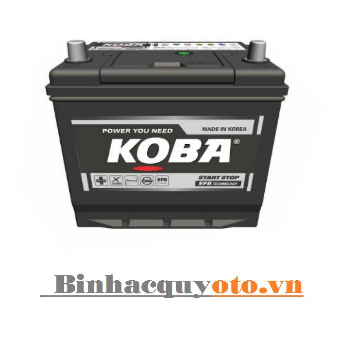 Ắc quy KOBA Q85 - 90D23L (12V - 65Ah) Istop