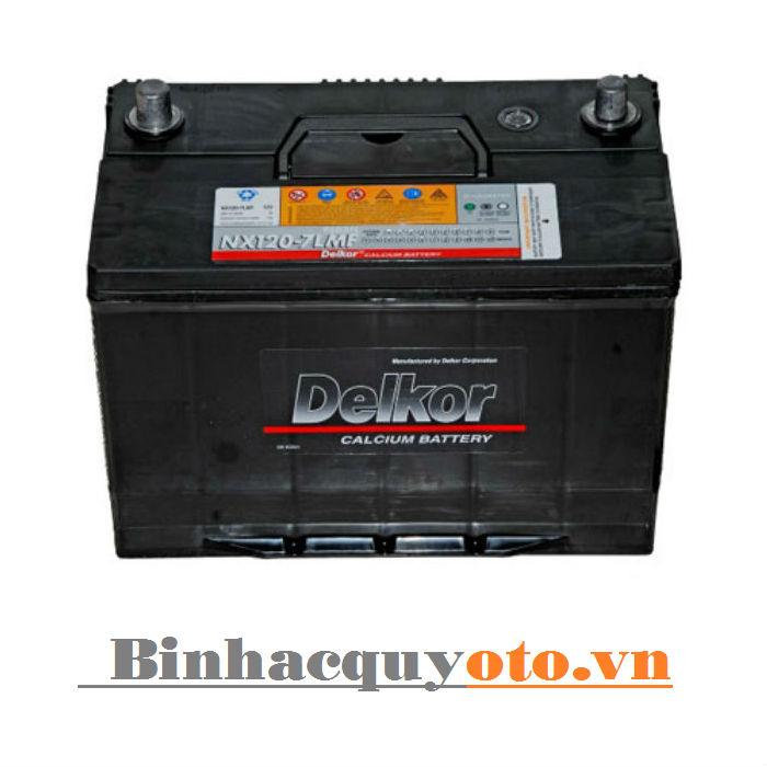 Ắc quy Delkor NX120-7 MF (12V - 90Ah)