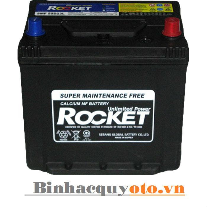 Ắc quy Rocket 75D23R/L (12V - 65Ah)