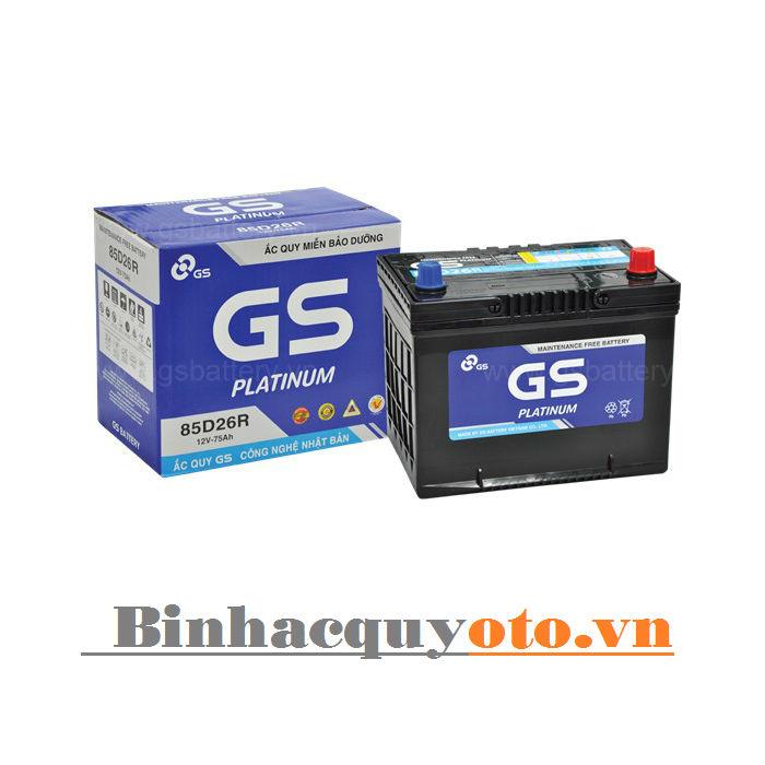 Ắc quy GS MF 85D26L (12V - 75Ah)