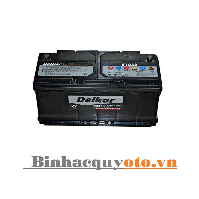Ắc quy Delkor DIN 61038 (12V - 110Ah)