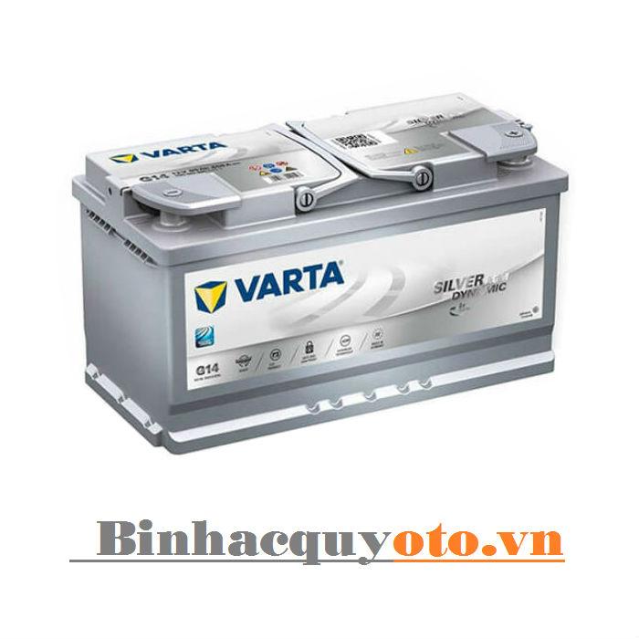 Ắc quy Varta AGM Din LN4 580901080 (12V - 80Ah)
