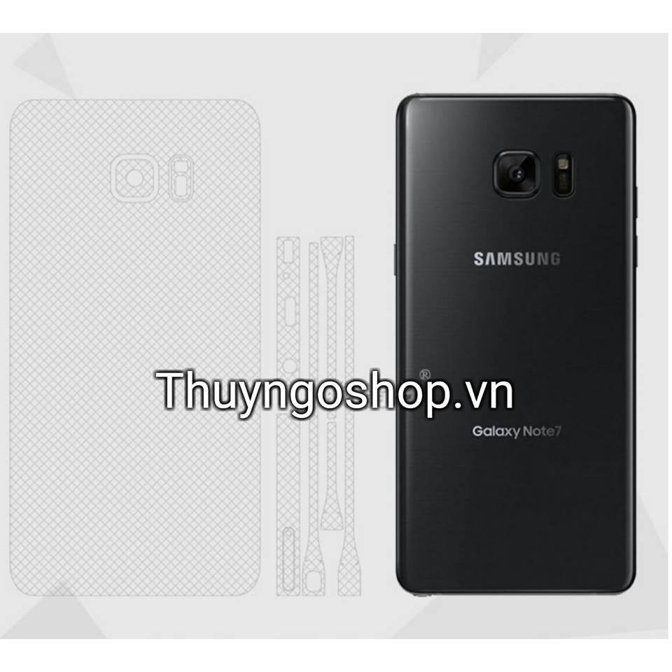 Bộ dán full body Samsung Galaxy Note7