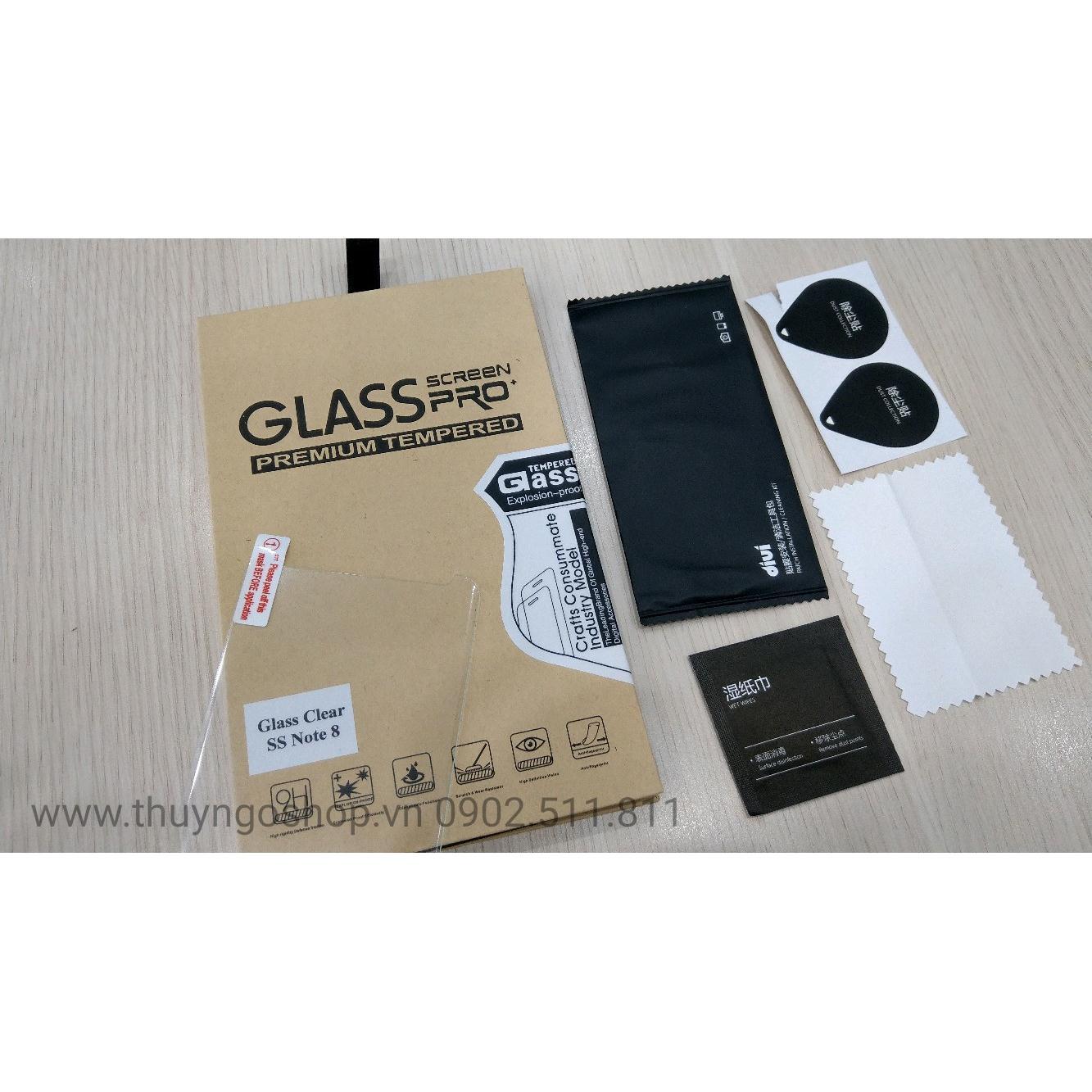 Kính cường lực keo nước UV Samsung S8 (full keo 100%)