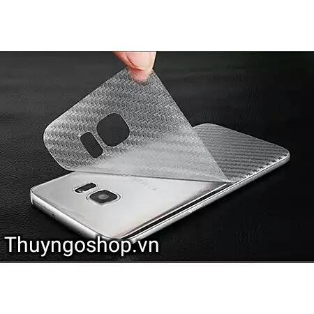 Dán lưng Carbon Samsung S6 Edge plus