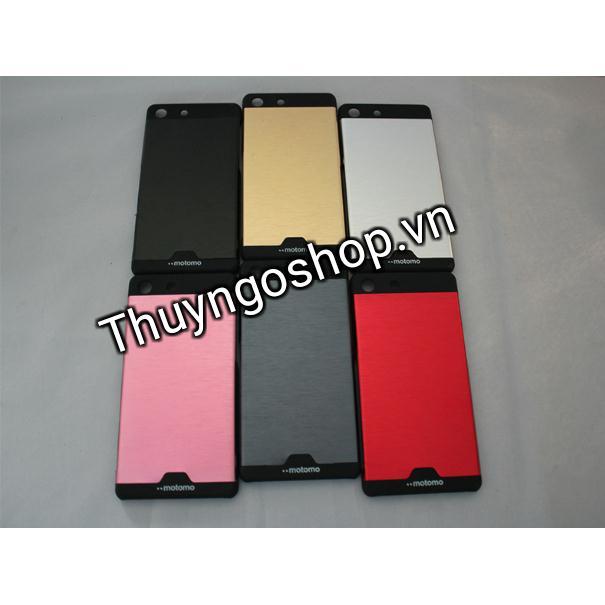 Ốp lưng nhôm xước Sony M5
