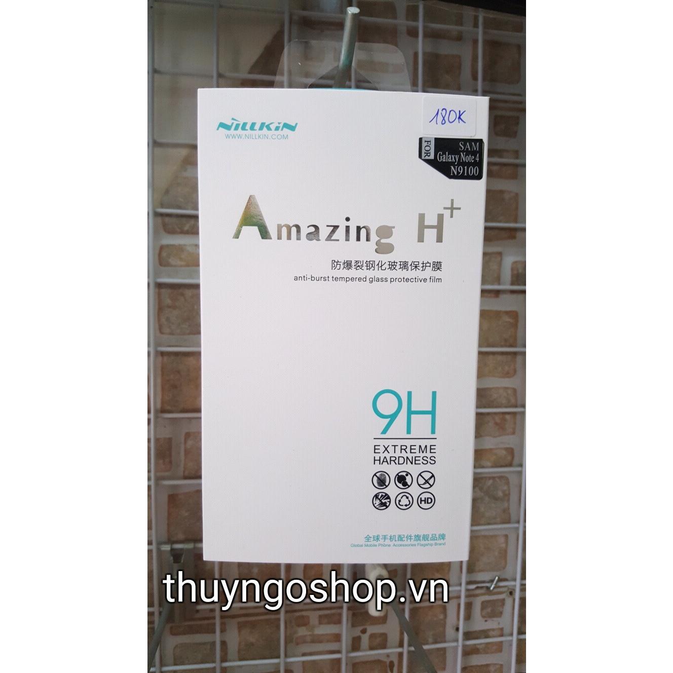 Kính cường lực Nillkin H+ Samsung Galaxy Note 4