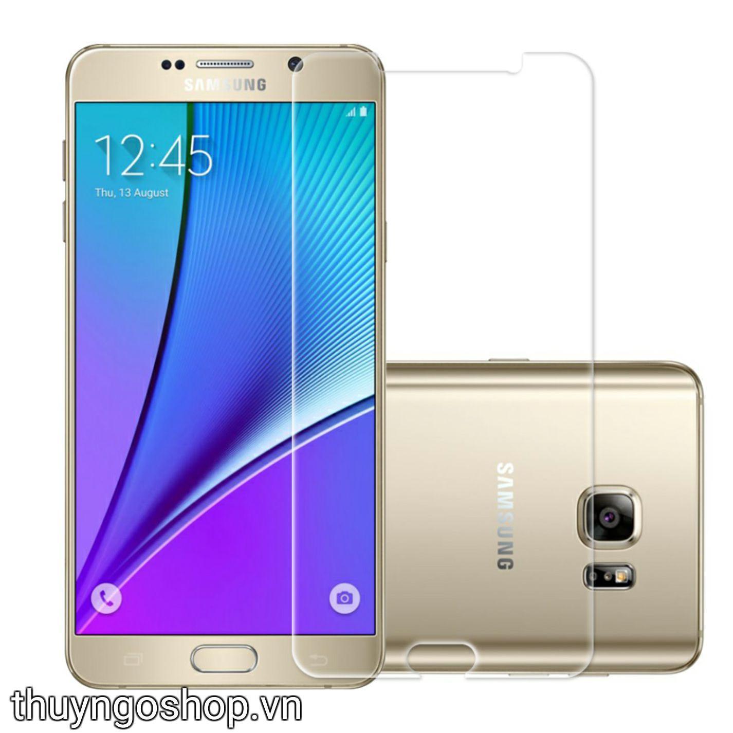 Kính cường lực Samsung Note 5 chính hãng CM