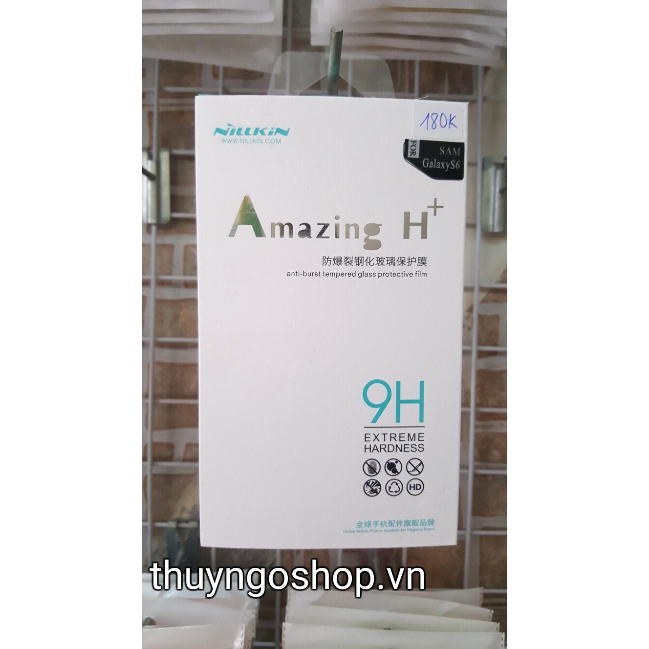 Kính cường lực Nillkin H+ Samsung Galaxy S6