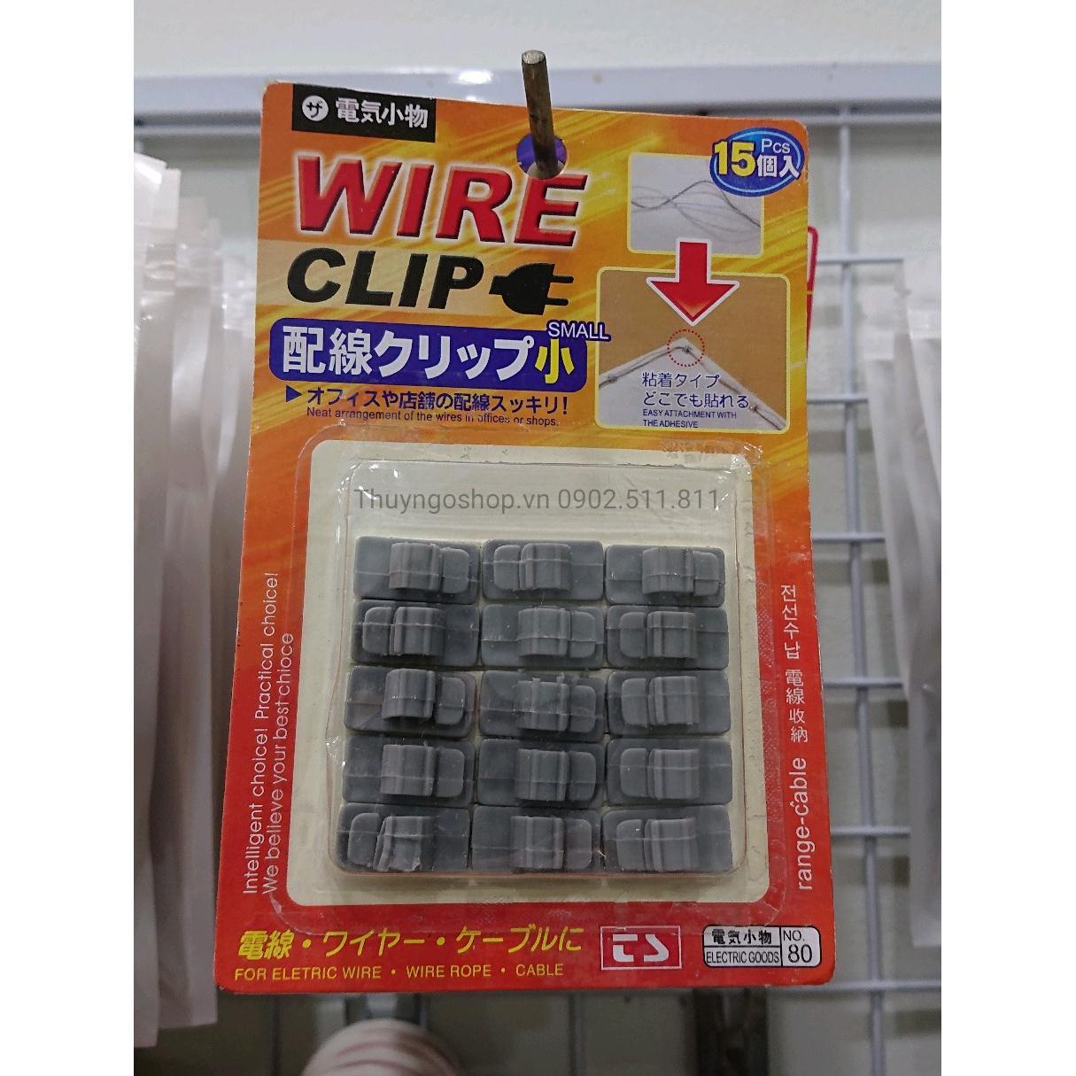 Bộ dụng cụ cố định & thu gọn dây điện các loại (6mm)