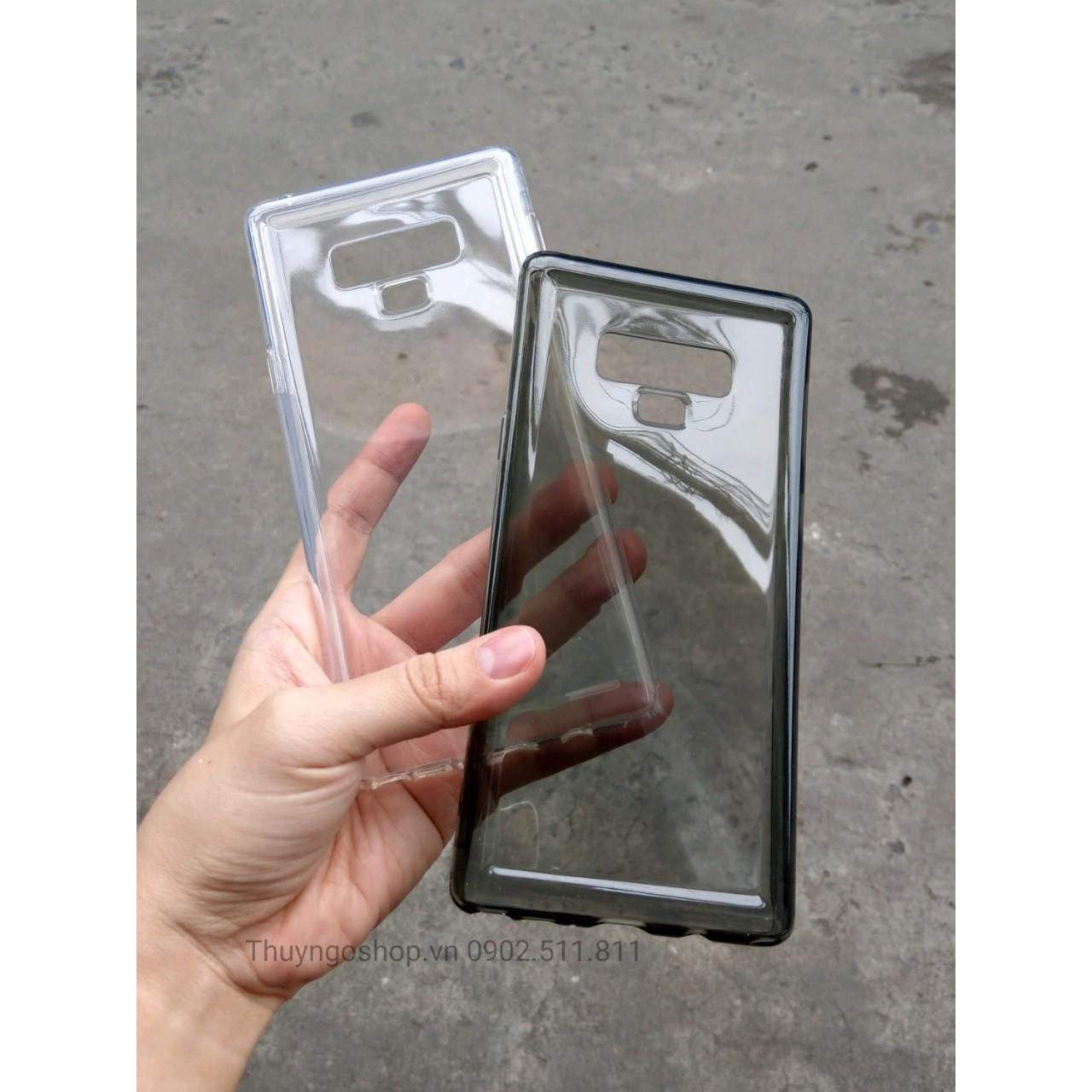 Ốp chống sốc silicon chính hãng  Baseus Samsung Note9