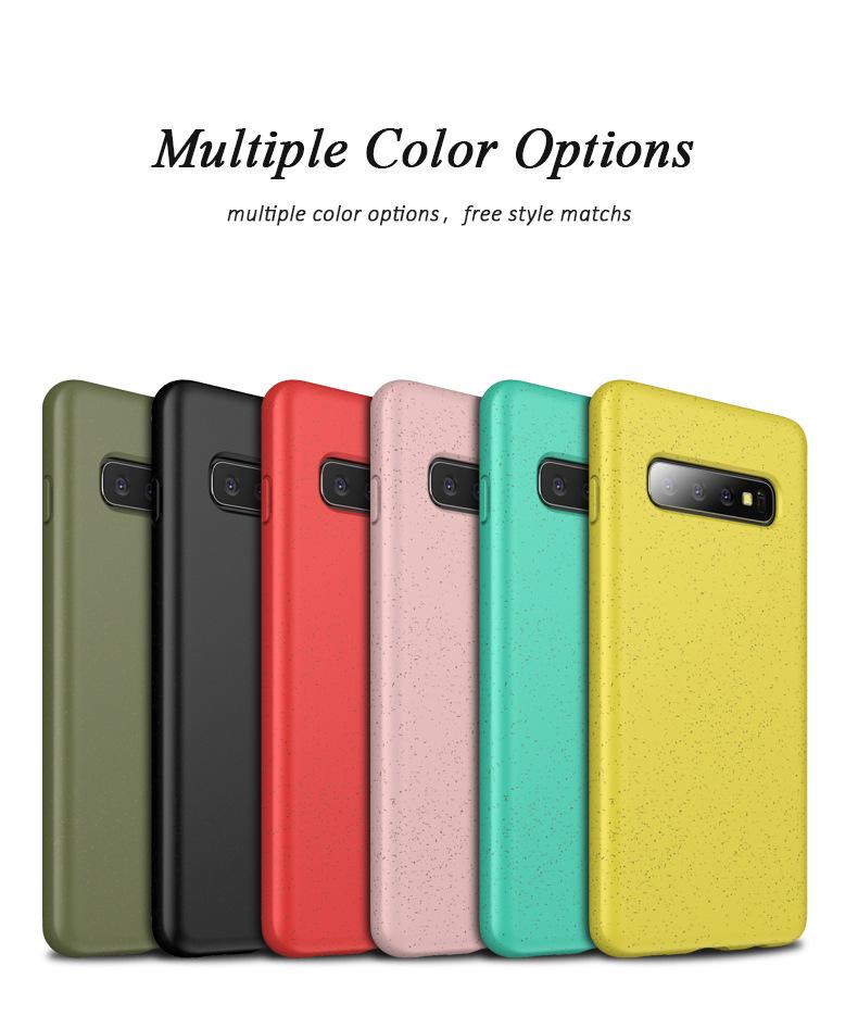 Samsung S10/S10plus/S10e Ốp silicon màu sắc trẻ trung