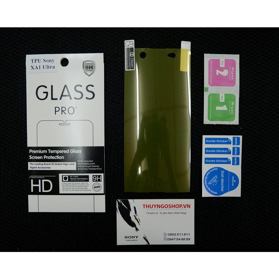 Dán dẻo full màn hình Sony XA1 Ultra