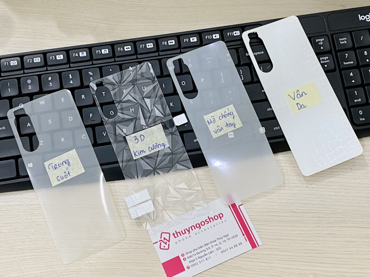 Sony Xperia 5 Mark II - Dán PPF mặt trước/sau