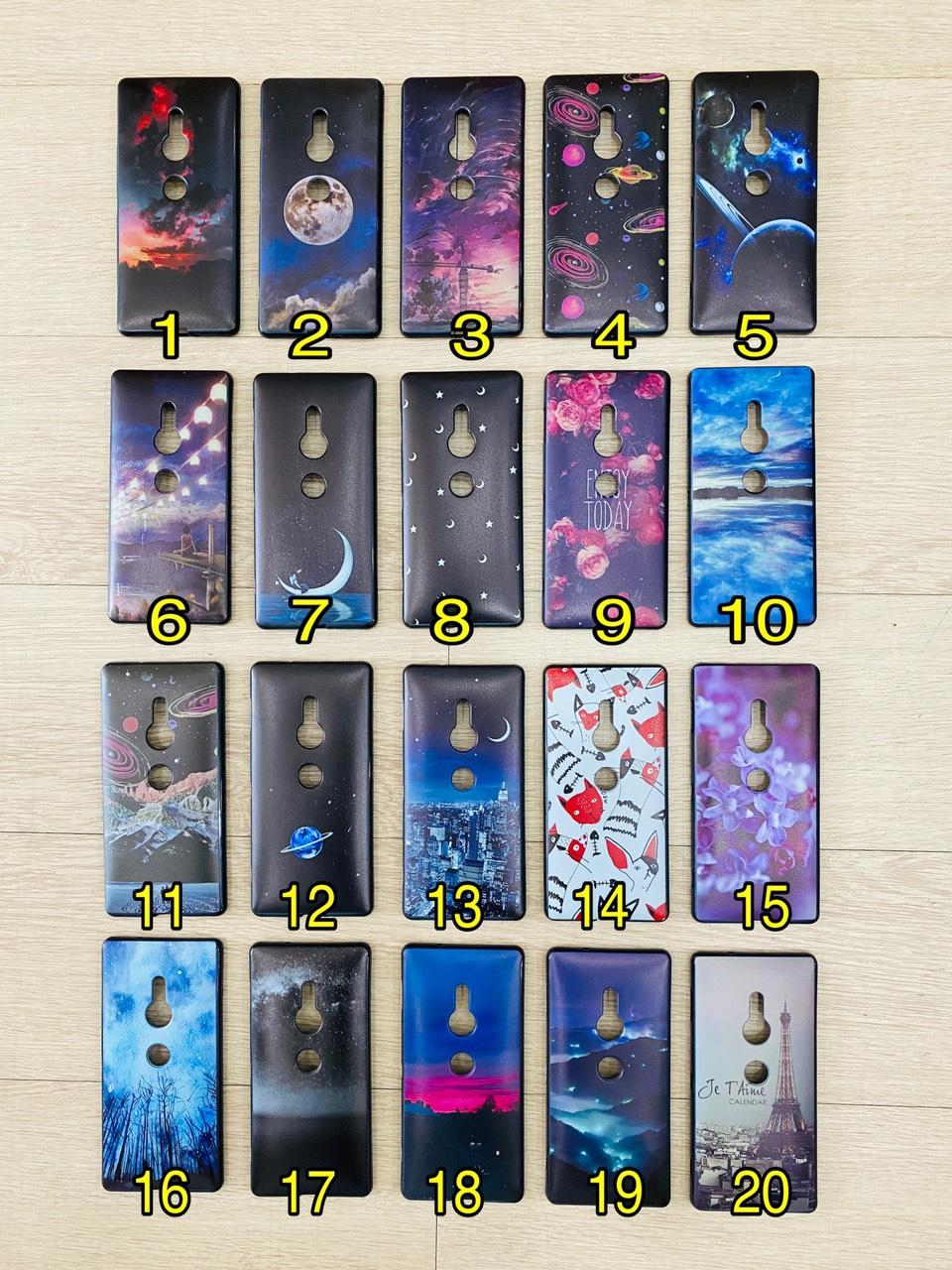 Sony Xperia 5 / XZ2 / XZ3 - Ốp lưng Silicon dẻo in hình Kute