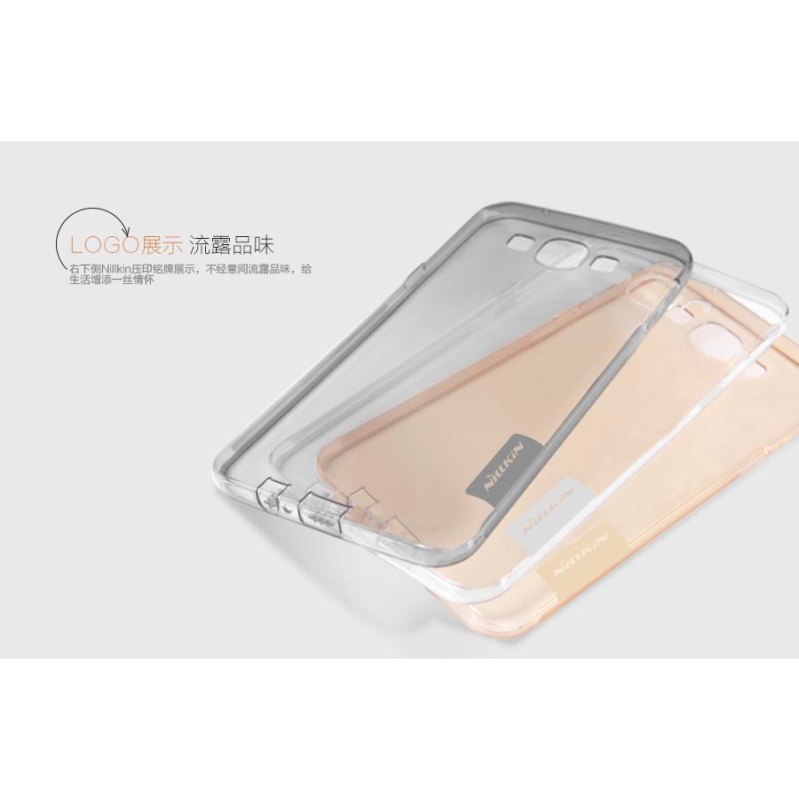 Ốp lưng silicon Galaxy Note 4  chính hãng Nillkin