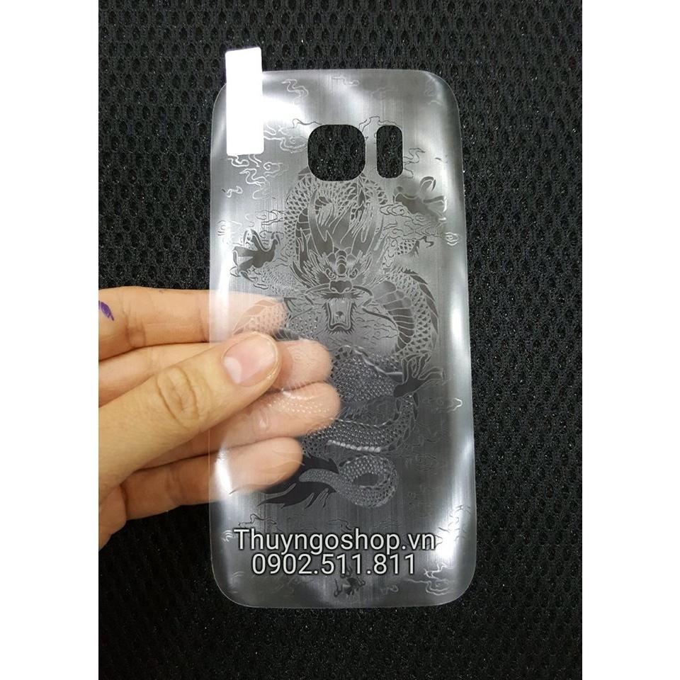 Film dán 3D trang trí vân Rồng Samsung S7 Edge