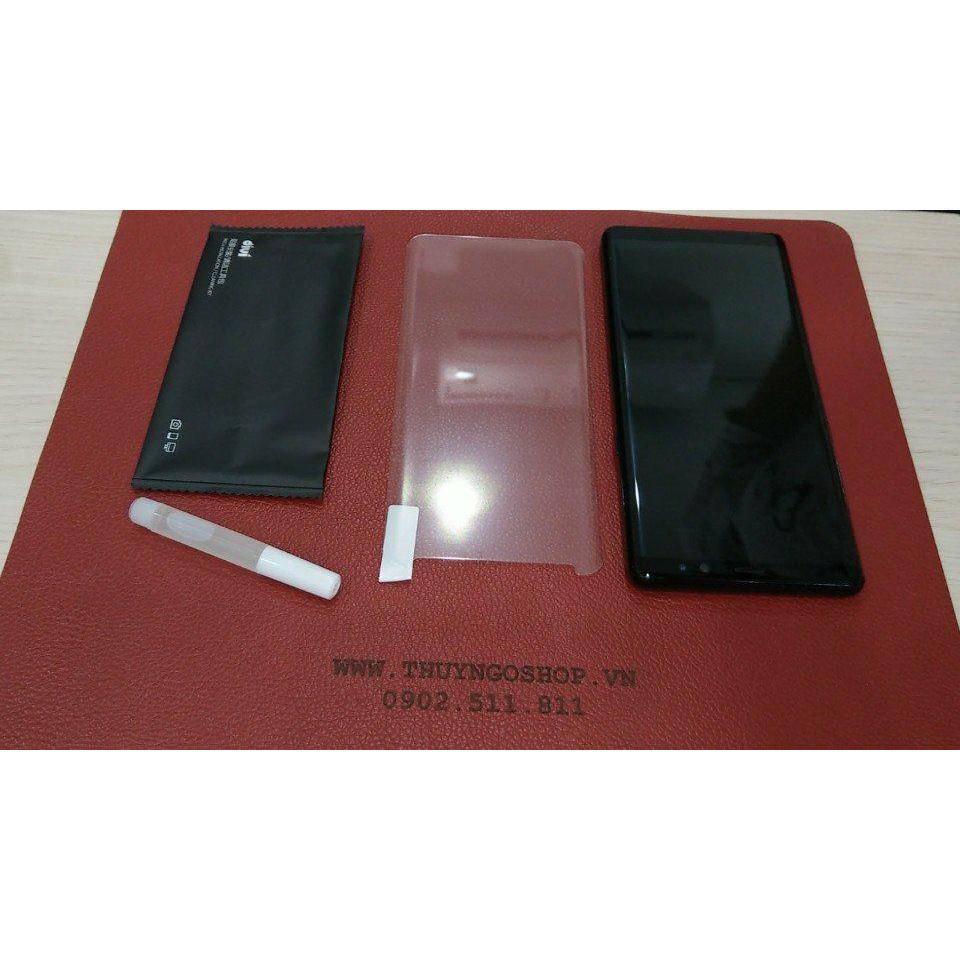 Kính cường lực keo nước UV Samsung S8plus (full keo 100%)