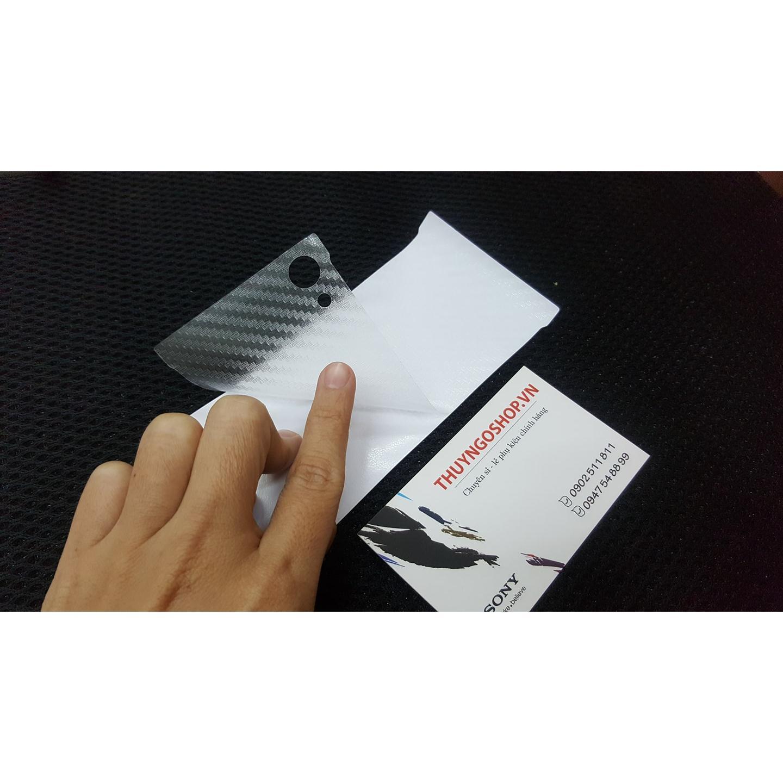 Dán carbon Sony XA1