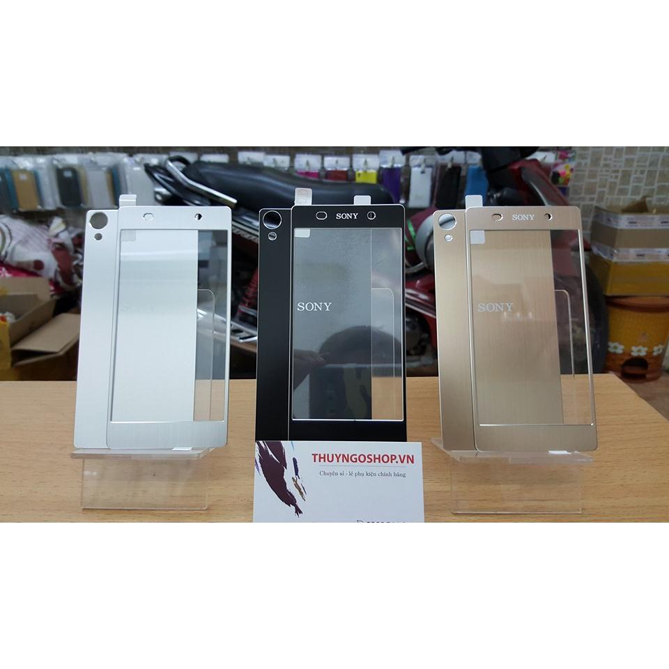 Kính cường lực mạ vân nhôm xước Sony Xperia Z1