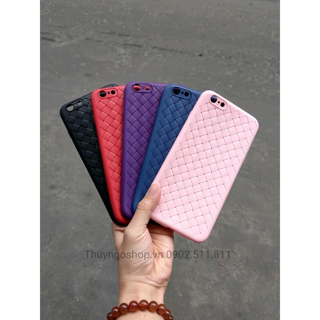 Ốp lưng dẻo đan lưới Iphone 6 Plus / 6S Plus