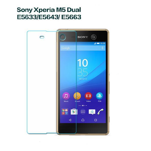 Kính cường lực Sony M5 dual ( mặt trước )