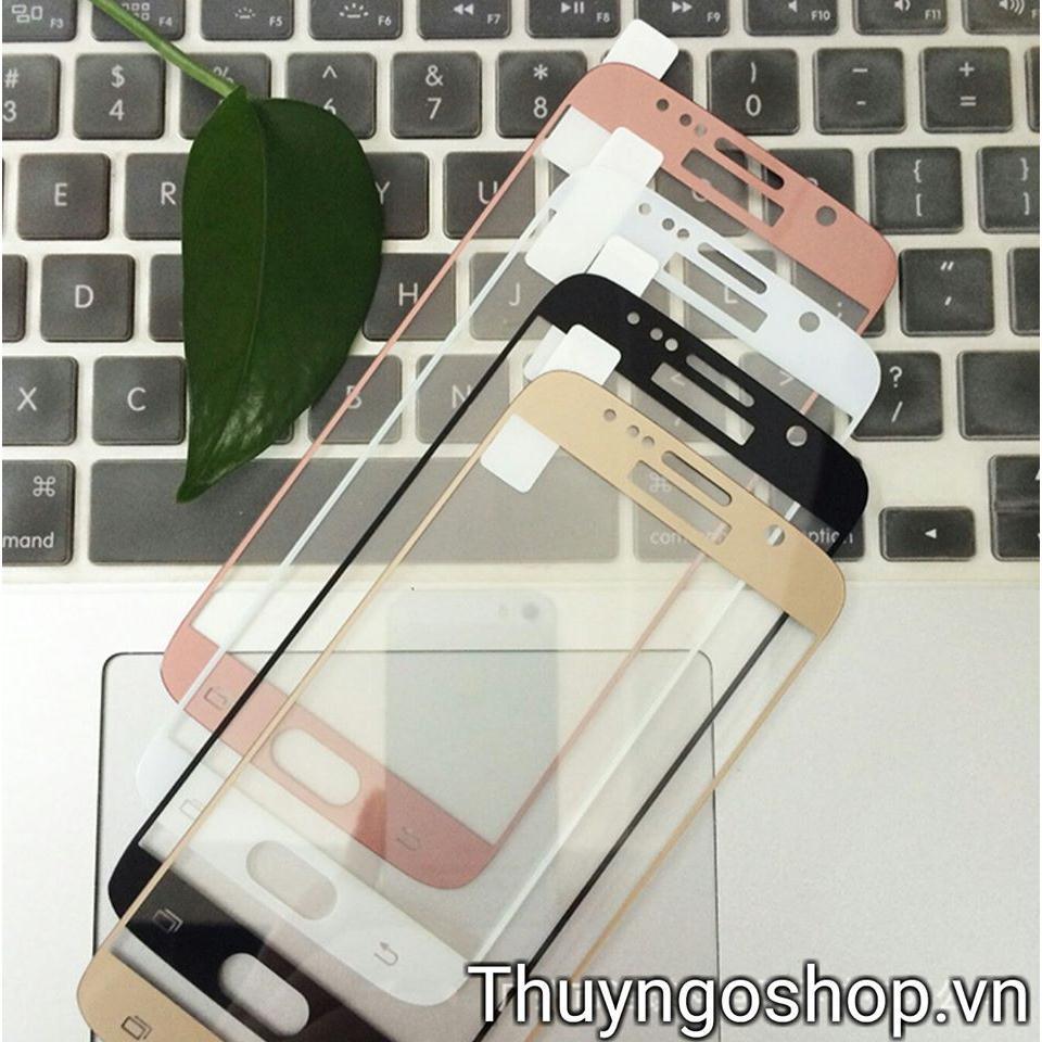 KÍnh cường lực full màn hình Samsung A7 2016