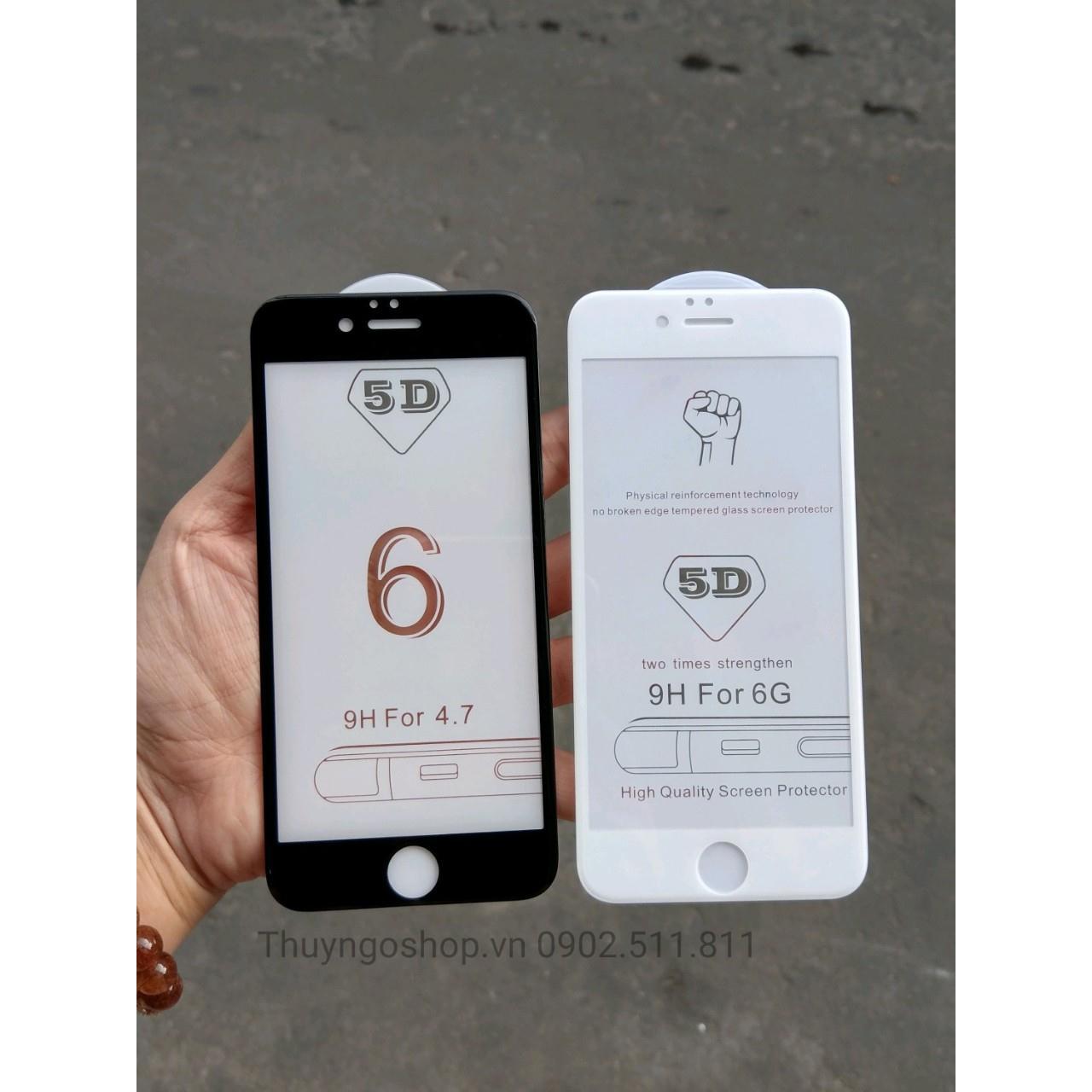 Kính Cường Lực full màn hình 5D Iphone 6 / 6S