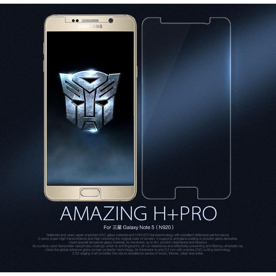 Kính cường lực Nillkin H+ PRO Galaxy Note 5