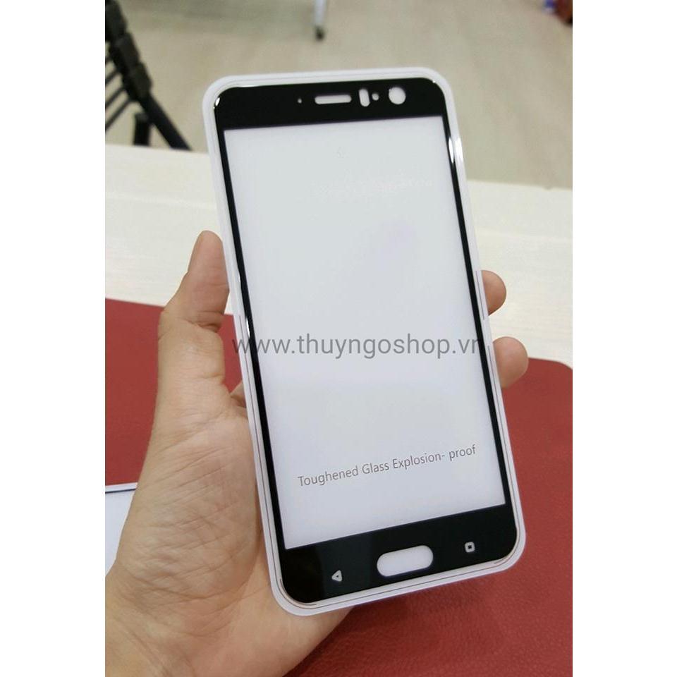 Kính cường lực full màn hình HTC U11