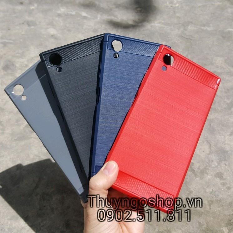 Ốp dẻo chống shock carbon Sony XA1 Plus