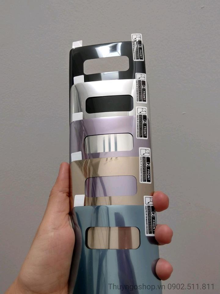 Dán PET dẻo 3 lớp nhiều màu Samsung Note8