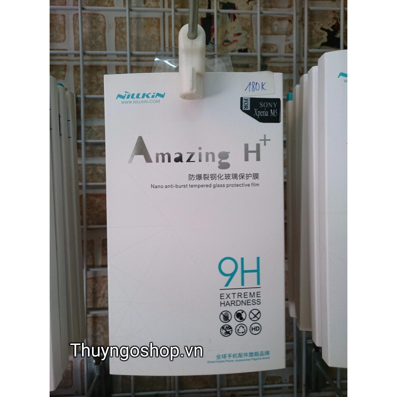 Kính cường lực Nillking Amazing H+ for Sony Xperia M5