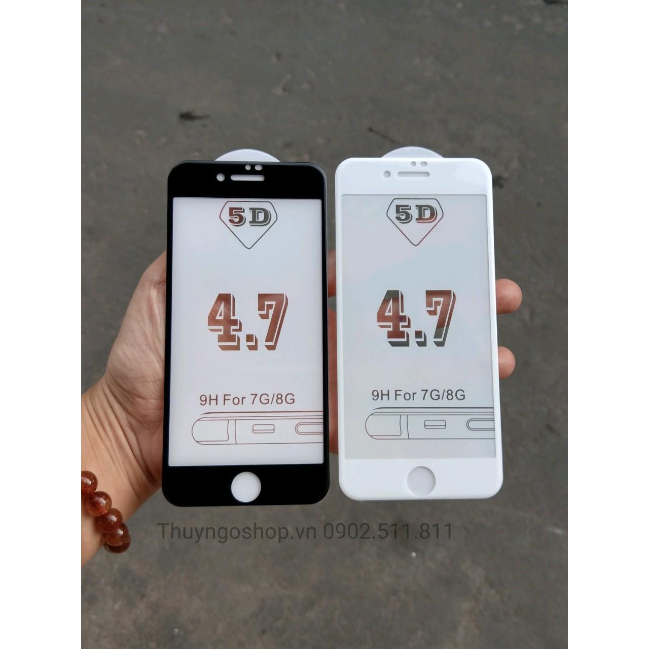 Kính Cường Lực full màn hình 5D Iphone 7 / 8