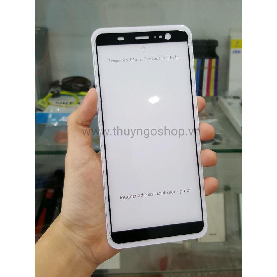 Kính cường lực full màn hình full keo 100% HTC U11 Plus