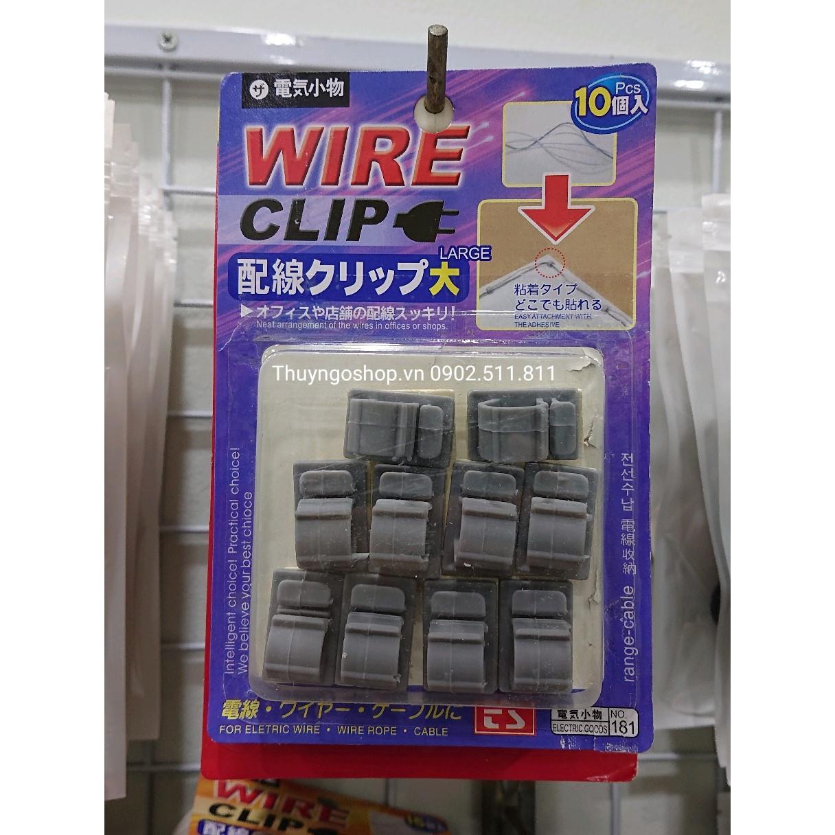 Bộ dụng cụ cố định & thu gọn dây điện các loại (15mm)